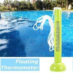 ขาย Floating Swimming Pool Hot Tub Jacuzzi Thermometer Pond Water Temperature Tester Intl ถูก ใน Thailand