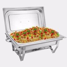 ซื้อ Fofo Chafing Dish ชุด ถาดบุฟเฟ่ต์ ถาดอุ่นอาหาร สเตนเลส 1ช่อง 1 ชุด Fofo เป็นต้นฉบับ