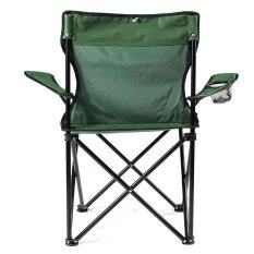 ซื้อ Folding Camping Fishing Chair Seat Foldable Beach Garden Outdoor Furniture Handy Green Intl ถูก