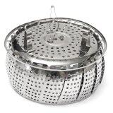 ทบทวน ที่สุด Folding Stainless Mesh Food Dish Vegetable Fruit Veg Steamer Basket Cook Poacher Small Size Intl