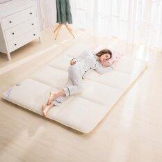พับหนาที่นอนแผ่นระบายอากาศได้เตียงเบาะ Tatami ที่นั่งผู้คุ้มครองอุ่นนักเรียนหอพักโรงแรม Tatami ที่นอน 150x200 เซนติเมตร - นานาชาติ By Sushine Baby.
