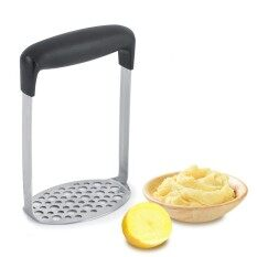 โปรโมชั่น Food Grade Stainless Steel Potato Masher Fruit Vegetable Mashing Kitchen Tool Intl ถูก