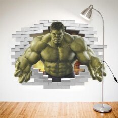 ราคา ราคาถูกที่สุด Frd Superheroes Avengers The Incredible Hulk Wall Sticker Kids Bedroomdecor Decal Intl