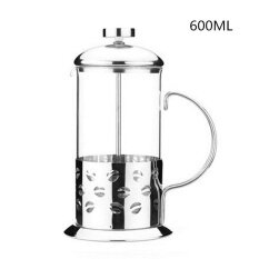 French Cafetiere Stainless Steel Insulated Coffee Tea Maker With Filter Double Wall French Press Silver Intl ใหม่ล่าสุด