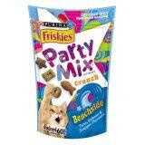 ซื้อ ขายยกลัง Friskies Party Mix Beachside ฟริสกี้ส์ ปาร์ตี้มิกซ์ ขนมแมว สูตรบีชไซต์ รสปลาทูน่า แซลมอนและสแนปเปอร์ 16Packs X 60G ใน Thailand