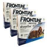 ขาย Frontline Plus ฟรอนท์ไลน์ พลัส สำหรับสุนัขน้ำหนัก 10 20 กก 3 หลอด X 3 กล่อง ถูก กรุงเทพมหานคร