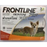 ขาย Frontline Plus For Dogs 10Kg ยาหยอดกำจัดเห็บ หมัด สุนัข บรรจุ 3 หลอด 1 Box