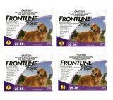 ราคา Frontline Plus For Dogs 20 40 Kg กล่องละ 3 หลอด 4 Units ที่สุด