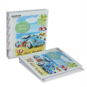 FujiFilm อัลบั้มรูป Instax Mini Album Car ลายรถ (2 เล่ม)