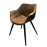 Furintrend เก้าอี้อาร์มแชร์ เฟอร์อินเทรน Armchair Sen1 Brown เป็นต้นฉบับ