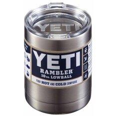 ส่วนลด Getek Yeti Rambler ถ้วยกาแฟสแตนเลสถ้วยแก้วฉนวนกันความร้อน 10 ออนซ์ Tumbler New Getek ใน จีน