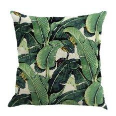 โปรโมชั่น Gethome ใหม่ใบพืชหมอนผ้าฝ้ายลินิน Cushion Cover Decor บ้าน 1 ถูก