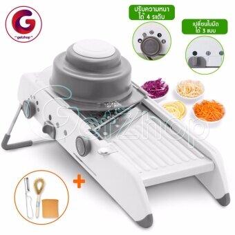 Getserviceเครื่องสไลด์ผัก หั่นผักและผลไม้ หั่นมันฝรั่ง Zhi Zun BaoStainless steel slicing vegetable