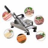 ราคา Getzhop เครื่องสไลด์เนื้อ หั่นหมูชาบู Standless Meat Slicer เครื่องหั่นเนื้อสไลด์บาง Gossoo รุ่น St100 สแตนเลส 304 ถูก