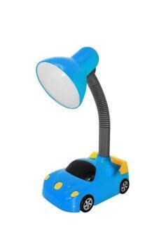 Giavani โคมไฟตั้งโต๊ะ ชุด Kid Series (Car) - (สีฟ้า)