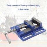 ทบทวน Gift High Precision Clamp On Table Flat Bench Vise Milling Machine Bench Drill Vise Intl