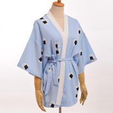 ขาย Girls Cute Japanese Yukata Rice Ball Print Summer Kimono Cardigan Homewear Intl เป็นต้นฉบับ