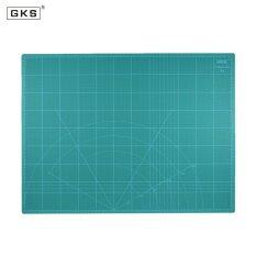 Gks 18 X 24 Multipurpose Self Healing Builders Double Sided 5 Ply Paper Cutting Mat Durable Pvc A2 Cutting Mat 60Cm�45Cm Green Intl เป็นต้นฉบับ