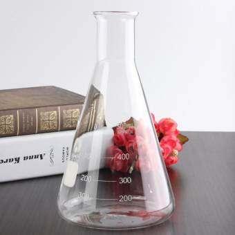 เครื่องแก้ว Scientific 500 มิลลิลิตร Erlenmeyer Flask ห้องปฏิบัติการกรวยขวดขนาด - นานาชาติ