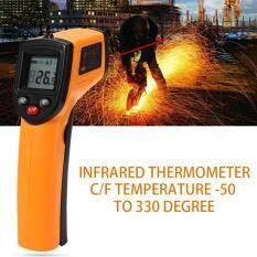 Gm320 เครื่องวัดอุณหภูมิ แบบอินฟาเรด แสดงผลแบบดิจิตอล -50 To 380 C 1 ชิ้น.