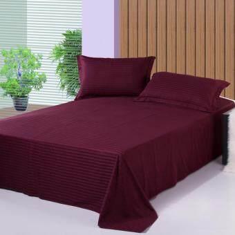 GoGoLife Bedlinen Bedspreads Flat Sheet Style 1.2m 1.5m 1.8m 2.0m-Deep Purple