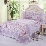 Gogolife Funny Cute Cotton Single Full Queen King Size Bedsheet 28 Purple Flower จีน