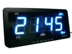 โปรโมชั่น Gooab Shop นาฬิกาปลุก ตั้งโต๊ะ ติดผนัง Led เฉพาะเวลา ขนาด 7 นิ้ว ไฟสีฟ้า Gooab Shop ใหม่ล่าสุด
