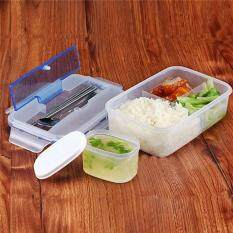 good dee ชุดกล่องอาหาร free bpa พร้อม ช้อน ตะเกียบและถ้วยน้ำซุป