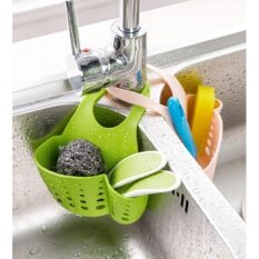 good  Push the kitchen sink rack(GREEN)ซื้อ 1 แถม 1(คละสี)