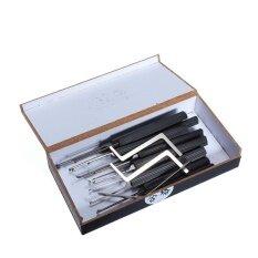 โปรโมชั่น Goso 14Pcs Hook Picks For Dimple Lock Locksmith Tools Lock Pick Set Intl ใน Thailand