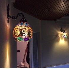 ราคา Gourd Outdoor Indoor Decorative Wall Light เป็นต้นฉบับ