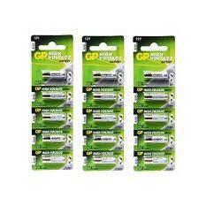 ราคา Gp Battery ถ่าน Alkaline Battery 12V รุ่น Gp27A ถ่านกริ่งไร้สาย รีโมตรถยนต์ Car Remote Controller 3 แพ็ค 15 ก้อน ที่สุด