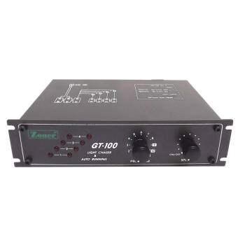 เครื่องควบคุมไฟวิ่ง GT100 4 Channels 12 Program 220 VAC 50 Hz.