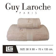 ซื้อ Guylaroche Bathtowel Premium Set 38X80 70X135Cm Brow N1 Free แพ็คกล่อง Gift Set Guy Laroche ถูก