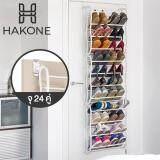 ขาย Hakone ชั้นวางรองเท้า ชั้นเก็บรองเท้าแบบแขวนประตู 12 ชั้น 24 36 คู่ พับได้ 3 ตอน สีขาว New Step Asia ตู้เก็บรองเท้า ตู้รองเท้า ตู้วางรองเท้า ออนไลน์