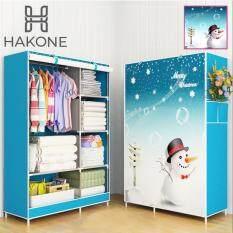 ขาย Hakone ตู้เสื้อผ้า 2 บล็อค สีฟ้าลายตุ๊กตาหิมะ รุ่น Gy 02D4 เป็นต้นฉบับ