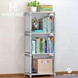 ซื้อ Hakone ชั้นวางของ ชั้นวางหนังสือ โครงเหล็กปรับเปลี่ยนรูปทรงได้ ขนาด 4 ชั้น 3 ช่อง สีเทา ใน Thailand