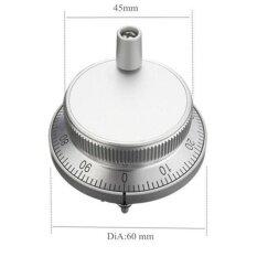 ซื้อ Hand Wheel Pulse Encoder 100Ppr Cnc Mill Router Manual Control For Cnc System 5V Intl ใหม่