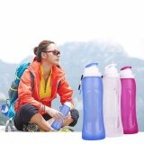 ราคา Handy Folding Water Bottle Silicone Drinking Kettle Cup Outdoor Hiking Camping Intl Unbranded Generic