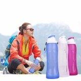 ราคา Handy Folding Water Bottle Silicone Drinking Kettle Cup Outdoor Hiking Camping Intl ราคาถูกที่สุด