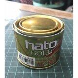 ราคา Hato สีน้ำมันอะคริลิคแท้ สี Gold สีทองคำเปลว ขนาด1 4 ปอนด์ Ag 123 เป็นต้นฉบับ