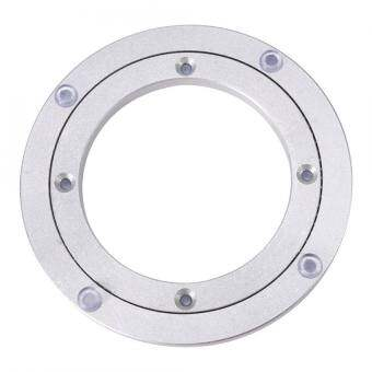 epayst【lower price + 6% discount】Heavy Duty Aluminium Alloy Rotating Bearing Turntable Round Table Smooth Swivel Plate 6 inch