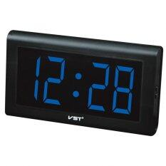 ซื้อ Hfshop นาฬิกา Led ติดผนัง ตั้งโต๊ะ ขนาด 12 นิ้ว ตัวเลข 4 นิ้ว รุ่น Vst พร้อมสายชาร์จ ไฟสีน้ำเงิน ถูก