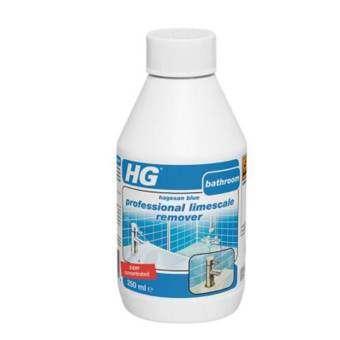 HG น้ำยาขจัดคราบหินปูนห้องน้ำชนิดเข้มข้น 250ml.-