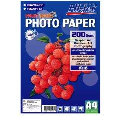 ขาย Hi Jet Fruit Series Photo Paper กระดาษผิวมันเงา 200 แกรม A4 100 Sheets Hi Jet