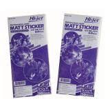 ขาย Hi Jet Matt Sticker Cd Die Cut สติ๊กเกอร์ซีดีไดคัทผิวด้าน 60 แกรม 13 X 28 Cm ชุดสุดคุ้ม 2 แพ็ค 2 X 50 แผ่น ราคาถูกที่สุด