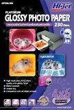 ทบทวน Hi Jet Photo Glossy Paperกระดาษเคลือบพิเศษผิวมันเงา230แกรม 4X6 นิ้ว 100 Sheets
