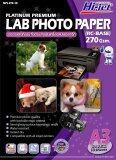 ขาย Hi Jet Photo Lab Paper กระดาษเคลือบพิเศษผิวกึ่งมันเงากึ่งด้าน 270 แกรม Rc Base A3 10 Sheets กรุงเทพมหานคร