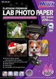 ขาย Hi Jet Photo Lab Paper กระดาษเคลือบพิเศษผิวกึ่งมันเงากึ่งด้าน 270 แกรม Rc Base A4 50 Sheets ใหม่