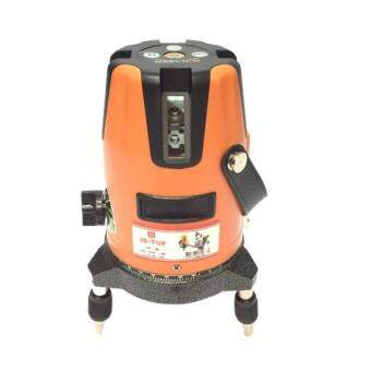 Hi-Top เครื่องวัดระดับเลเซอร์ 5 เส้น รุ่น LS-5L สีส้ม (ถ่าน AA)-